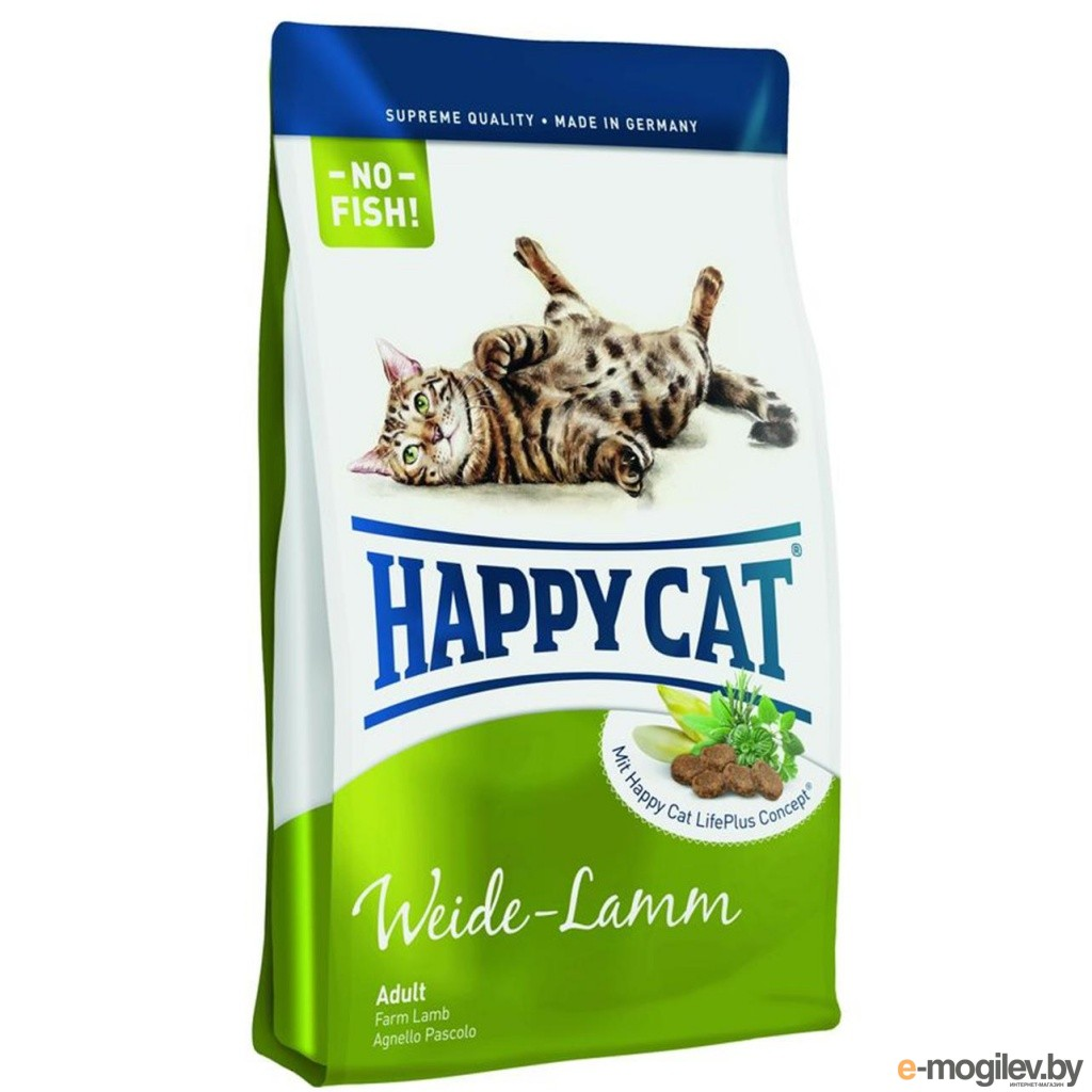 Happy Cat Adult Ягнёнок 1.8kg 70121