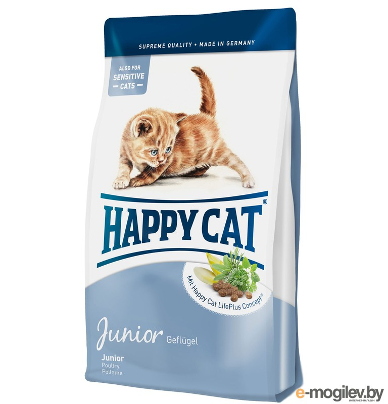 Happy Cat Fit & Well Junior 4kg 70029 для кошек