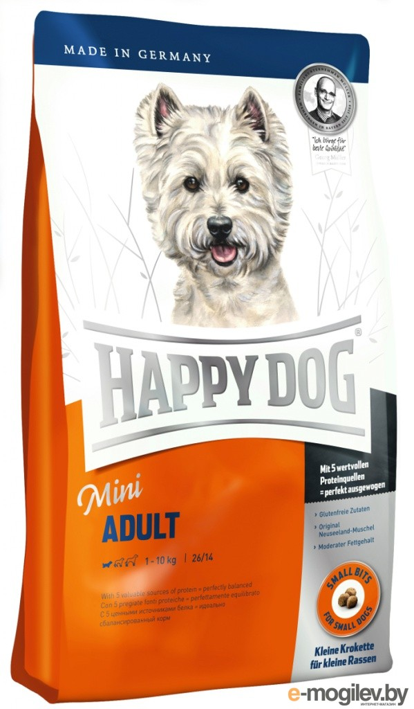 Happy Dog Mini Adult 1kg 60003/5584