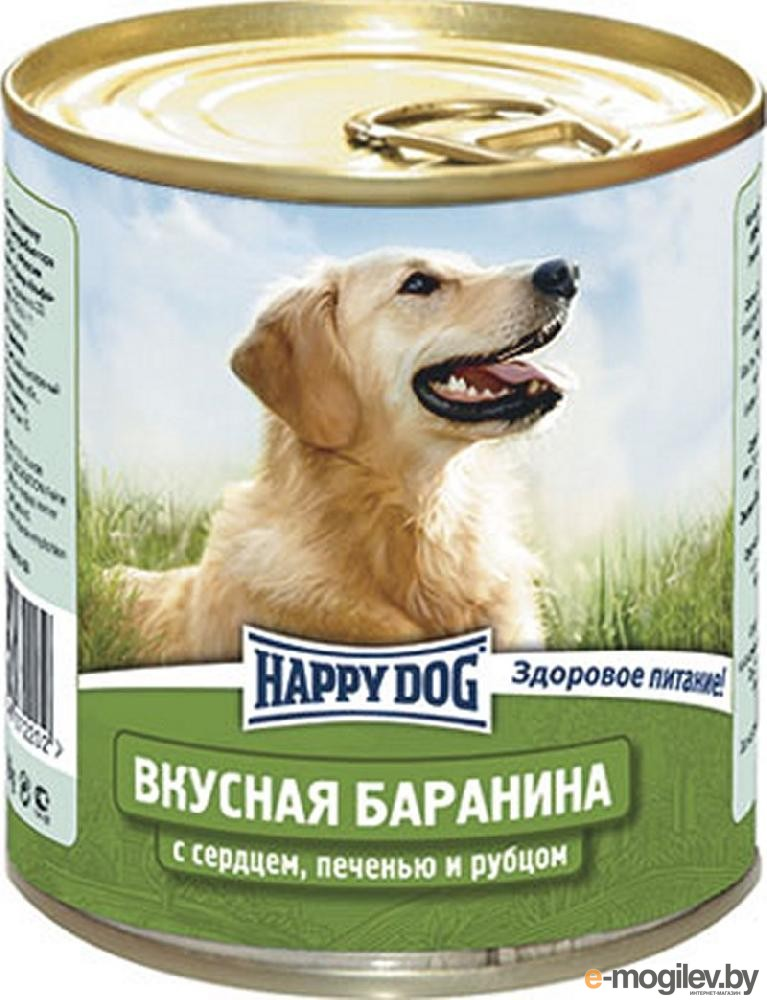 Happy Dog Баранина/Сердце 750g 72202/4001