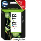 Картриджи. HP 122 Black + 122 Tri-colour CR340HE