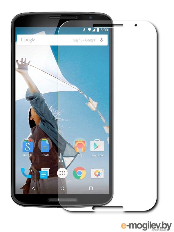 Защитное стекло Huawei Nexus 6 BROSCO 0.3mm NEXUS6-SP-GLASS