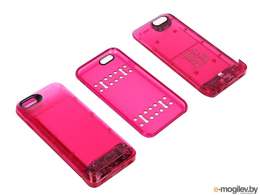 Чехол-аккумулятор Boostcase 2700 mAh для iPhone 6 / 6S Transparent Pink BCH2700IP6-PTM