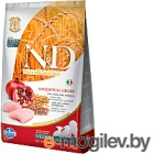 Корм для собак Farmina N&D LOW GRAIN CHICKEN & POMEGRANATE PUPPY MEDIUM 0,8 кг