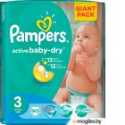 Pampers Active Baby 3 (5-9 кг) 90шт