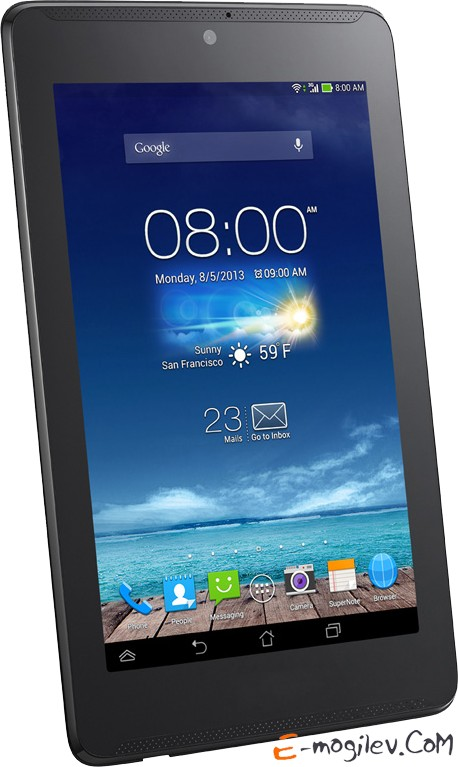 Asus FonePad 7 ME372CG Atom Z2560 / 1G / 16G / 7 IPS(1280x800) 10-finger MT/WiFi/BT/GPS/3G/Cam/Android 4.2  Black