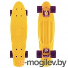 Y-SCOO Fishskateboard 22 Yellow-Dark Purple 401-Y