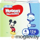 Huggies Ultra Comfort 4 Disney 126шт Boy