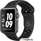 APPLE Watch Nike Series 3 42mm Grey Space with Anthracite/Black Sport Band MQL42RU/A
