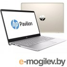 HP Pavilion 14-bf103ur <2PP46EA> i5-8250U (1.6)/6Gb/1TB+128Gb SSD/14.0FHD/NV GT 940MX 2GB/No ODD/Cam HD/Win10 (Silk Gold)