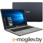 ASUS XMAS VivoBook Pro 17 N705UN-GC023T 90NB0GV1-M00230 Intel Core i5-7200U 2.5 GHz/8192Mb/1000Gb/No ODD/nVidia GeForce GTX 1040 2048Mb/Wi-Fi/Bluetooth/Cam/17.3/1920x1080/Windows 10 64-bit
