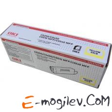 Oki 42127454 yellow для C5250/5450/5510MFP/5540MFP (5000стр.)