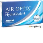 Контактные линзы Alcon Air Optix Plus HydraGlyde 6 линз / 8.6 / -3.5