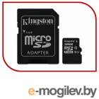 Карта памяти MicroSDXC 32GB  Kingston Class 10 UHS-I U1 Canvas Select + адаптер  [SDCS/32GB]