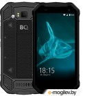 "BQ 5003L Shark pro Black Смартфон5"" IPS/1280х720/4x1.3GHz/2+16Gb/LTE/2Sim/8+8Mp/3200mAh/IP65/Gorila glass/And7"