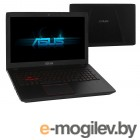 Нетбуки amp ноутбуки ASUS ROG FX553VE-DM473 90NB0DX4-M07080 Intel Core i5-7300HQ 2.5 GHz/12288Mb/1000Gb  128Gb SSD/No ODD/nVidia GeForce GTX 1050Ti 2048Mb/Wi-Fi/Cam/15.6/1920x1080/DOS