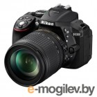 Nikon D5300 KIT DX 18-105 VR 24.1Mp, 3 WiFi, GPS black