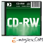 CD-RW Data Standard 4-12x /700Mb/80min/ [Slim]