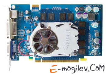 Sparkle GeForce 6600 GT PCI-E 256Mb 128 bit. Уценка