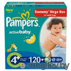 PAMPERS Active Baby Maxi Plus 4+ 9-16 кг 120шт