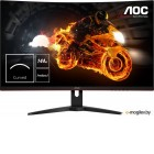 AOC C32G1 Black (VA, изогнутый, LED, 1920x1080, 144Hz, 1 ms, 178°/178°, 250 cd/m, 80M:1, +2xHDMI 1.4, +DP)