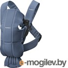 Сумка-кенгуру BabyBjorn Mini Cotton 0210.74 (vintage indigo)