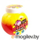Лизун Slime Mega Mix 500гр Yellow/Strawberry S500-2