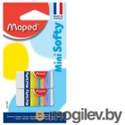Ластик Maped SOFTY MINI 21789 мягкий малый