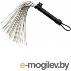 Плетка Fifty Shades of Grey Satin Flogger / 17758 (серебристый)