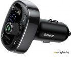 Baseus T-Typed Bluetooth MP3 Charger With Car Holder Black CCALL-TM01