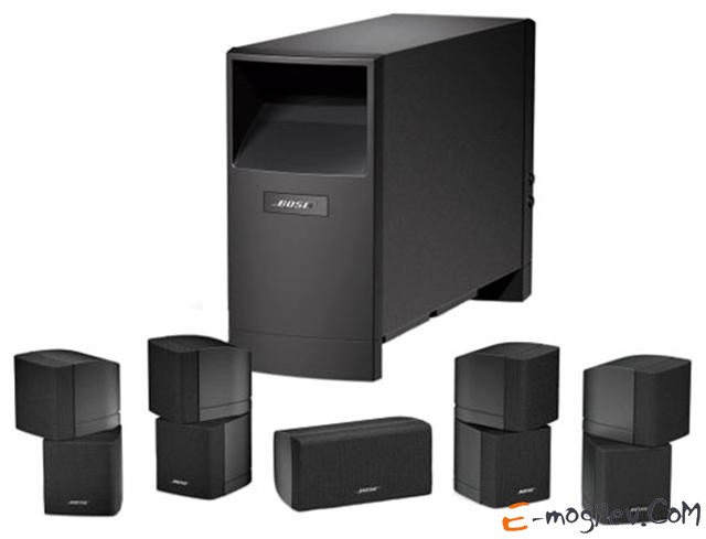 Bose Acoustimass® 10, Black 5.1