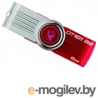 USB Flash. KINGSTON Data Traveler 8Gb RET красный DT101G2/8GB