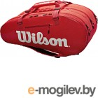 Сумка теннисная Wilson Super Tour 3 Comp RED / WRZ840815