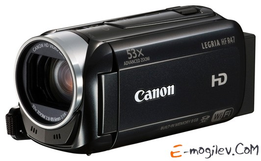 Canon Legria HF R47 black 1CMOS 32x IS opt 3 Touch LCD 1080p SDHC Flash