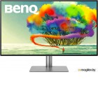 МОНИТОР 31.5 BenQ PD3220U Black-Grey с поворотом экрана (4K, IPS, 3840x2160, 5 ms, 178°/178°, 300 cd/m, 20M:1, +2xHDMI