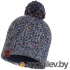 Шапка Buff Knitted&Polar Hat Margo Blue (113513.707.10.00)