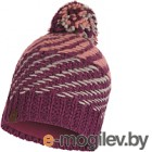 Шапка Buff Knitted&Polar Hat Nella Purple Raspebrry (117891.620.10.00)
