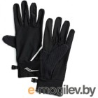 Перчатки для бега Saucony 2020-21 Fortify Liner Gloves / SAU900003 (XL, Black)