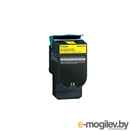 Картридж-тонер Lexmark C544X1YG yellow для С544