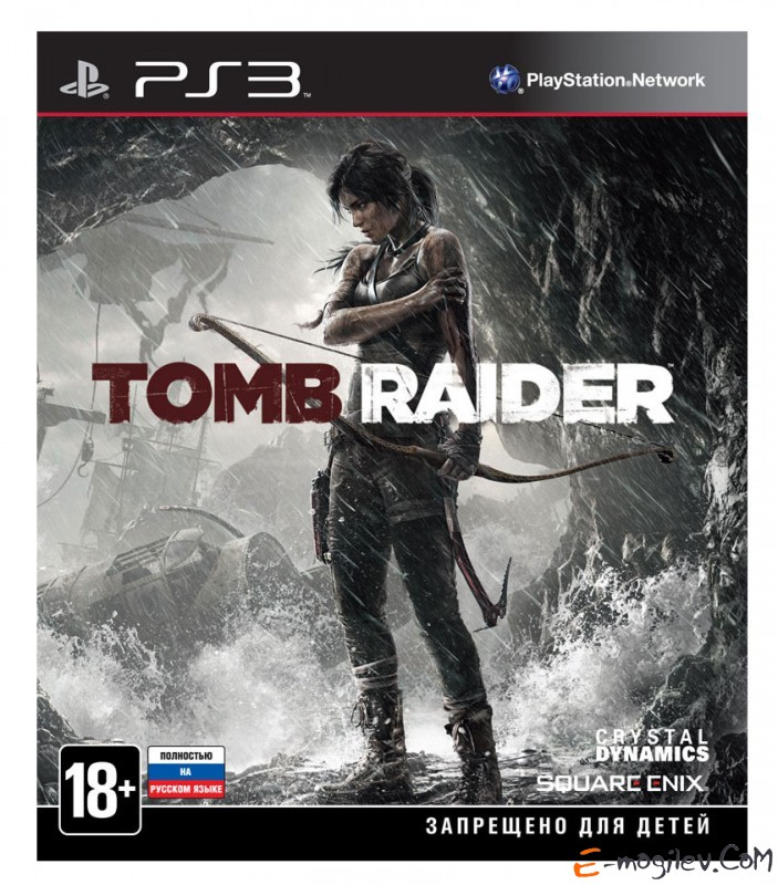PS3 Sony Tomb Raider русская версия (RUS)