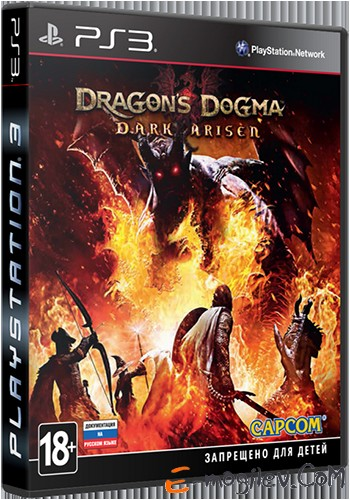 Игра для PS3 Sony Dragons Dogma: Dark Arisen русская документация (RUS)