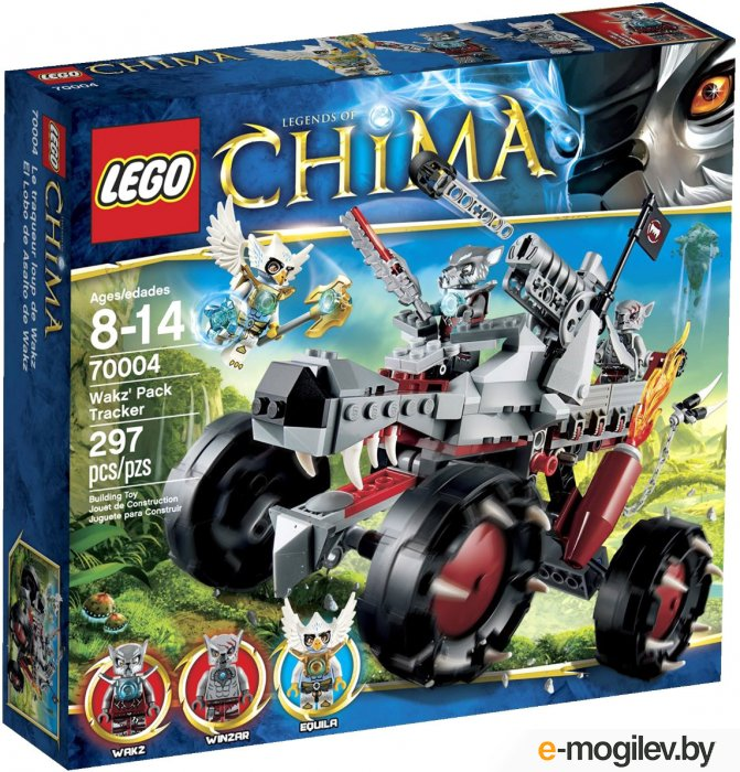 Конструкторы LEGO Конструктор Lego Legends of Chima Разведчик Вакза 70004