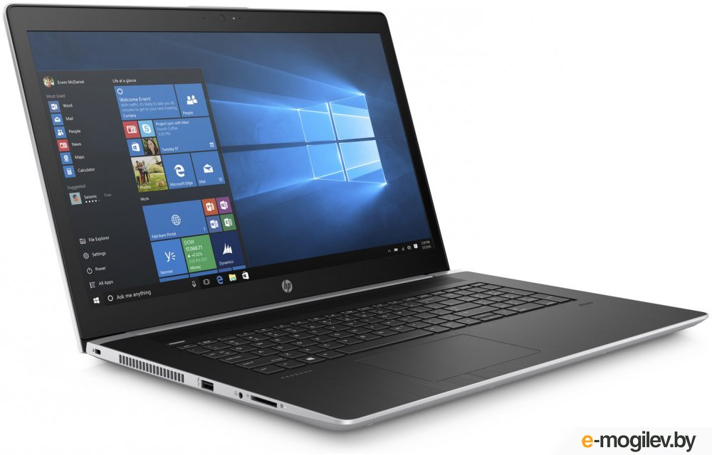 HP ProBook 470 G5 2UB73EA Silver Intel Core i7-8550U 1.8 GHz/8192Mb/512Gb SSD/nVidia GeForce 930MX 2048Mb/Cam/17.3/1920x1080/Windows 10 Pro 64-bit
