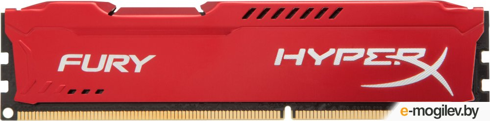 Kingston HX318C10FR/8 8Gb  DDR3 1866MHz HyperX FURY Red Series CL10