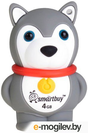 SmartBuy Wild Series Hasky Dog <SB8GBDgr> USB2.0 8Gb